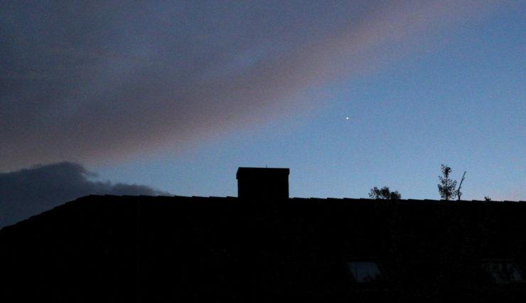 Venus in der Abenddämmerung