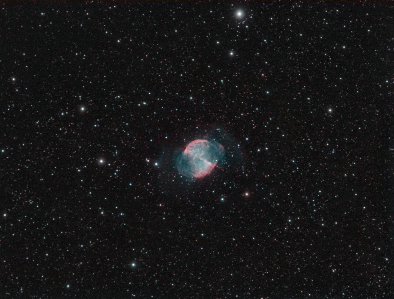 Messier 27, 2008-08-18