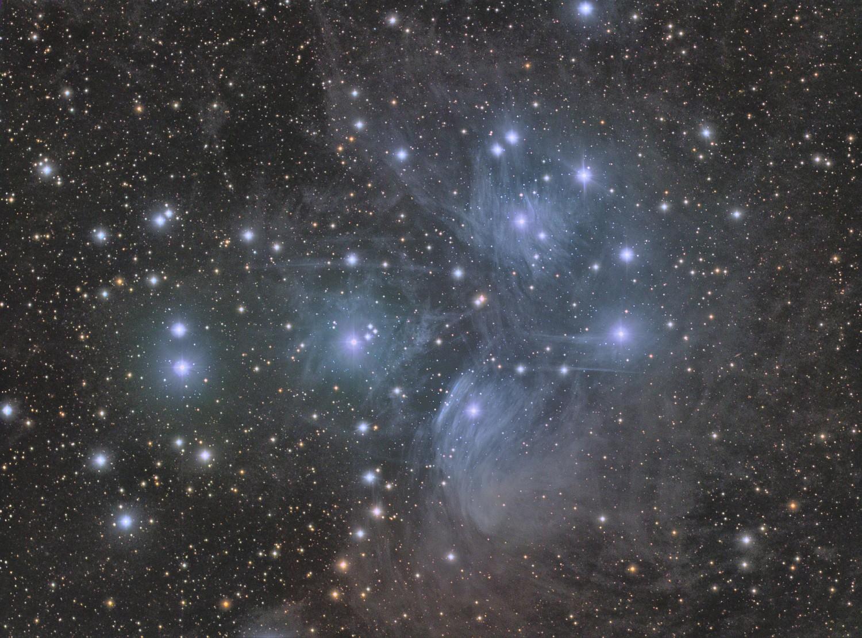 Messier 45, 2013-11-27