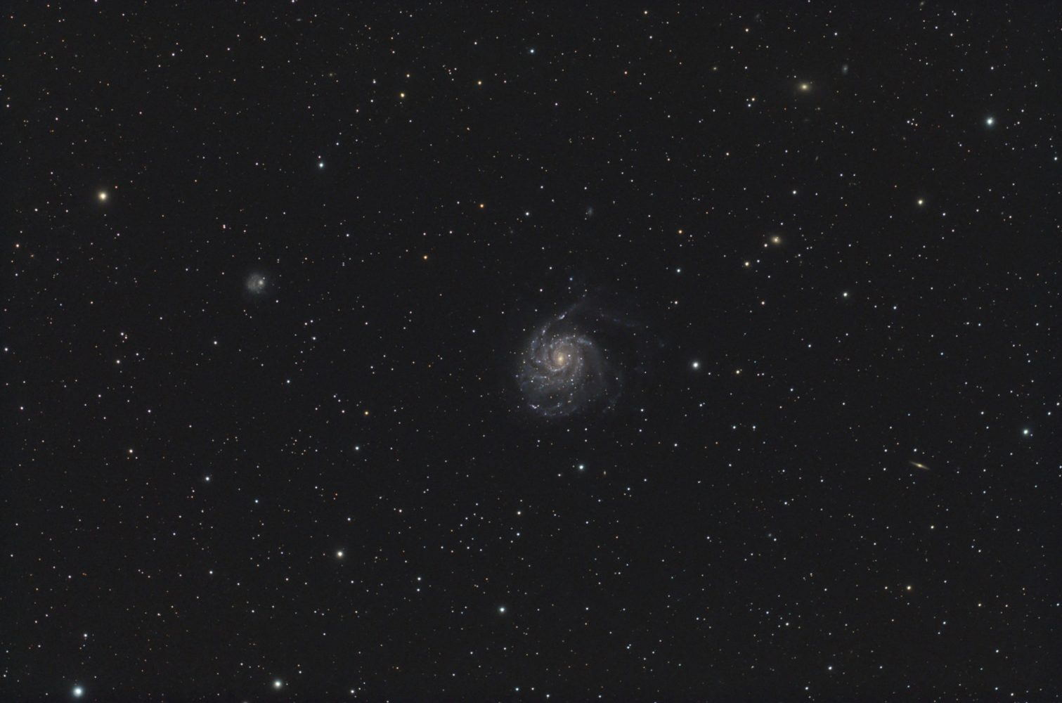 Messier 101, 2010-04-18