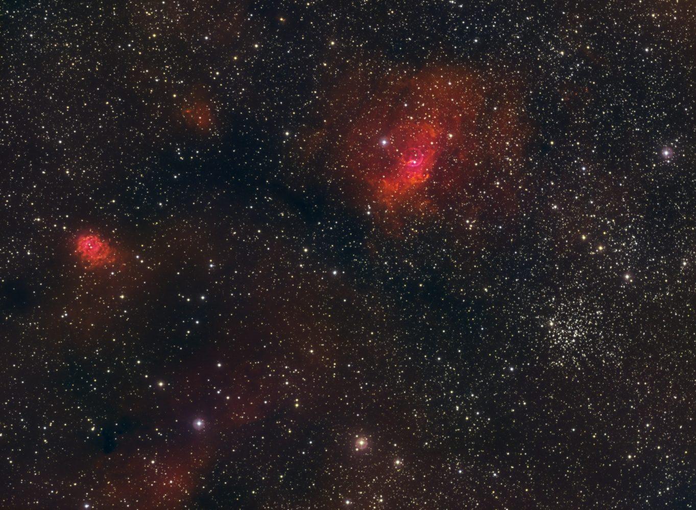 NGC 7635, M 52, 2011-09-16